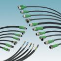 Montageklare sensor-/aktuatorkabler i PVC