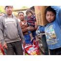 Nepal jordbävning 2015 familj