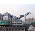 """Cheng Dapeng. """"Weightless"""" 2007, är ett tidigare konstverk som ställdes ut i Beijing."""