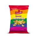 Äntligen dags för Stockholm Pride:  Estrella presenterar stolt nya chips på tillfälligt besök
