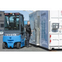 Toyotan polttokennotoiminen trukki Euroopan ensiesittelyssä