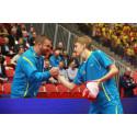 Herrjuniorerna till kvartsfinal mot Kina på JVM i bordtennis
