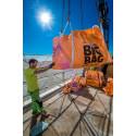 Höglyft och BIG BAG säckar vid rivning av takvåning