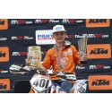 SUCCESSFUL KTM YOUGSTERS AT THE FIM JUNIOR MX WORLD CHAMPIONSHIP