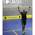 Stephen Coppinger signs with Salming Squash! Becoming the first player to win a title with a Salming Squash racket!