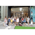 Doggies Get Dressed For A Day Out at ION Orchard
