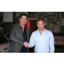 Pontus Frithiof och Thomas Dahlstedt lanserar Burger & Lobster i Sverige
