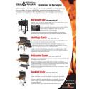 "Produktblad - Grill'n Smoke serie med kolgrillar i klassisk ""Texas"" stil"