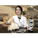 Starkaste biokompositen är tillverkad av hampa och majs