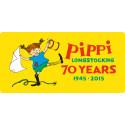 Pippi anniversary logo