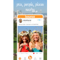 Bounce - Share Here! A New Local Sharing App That Let's Users Capture Moments And Share With People Nearby.