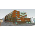 Martinsons levererar limträ till påbyggnad i Umeå