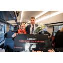 Lycklig resenär med VD Johan Söör