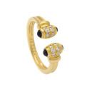 Smyckekvaliten 28 november, Nr: 186, CARTIER, 18K guld, 12 briljantslipade diamanter ca 0,25 ctv