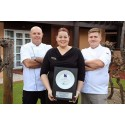 DEDICATION FROM TEAM PAYS OFF WITH RCA PLATE