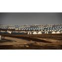 Flyktinglägret Azraq i Jordanien