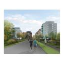 Helsingborgshem utvecklar Husensjö med 60 nya bostäder