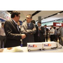 IE Singapore CEO meets FedEx at Last Mile Fulfilment Asia (LMFAsia)