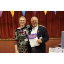 Inspiring stroke survivor receive regional recognition