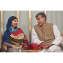 Press Image: Malala Yousafzai & Kailash Satyarthi, 2014 Nobel Peace Prize Laureates