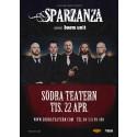 SPARZANZA spelar på Södra Teaterns stora scen.