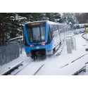 Vinter i tunnelbanan