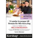 Korshags stödjer Stiftelsen Min Stora Dag