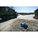 Sopbil på vår återvinningsanläggning