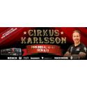 Cirkus Karlsson kommer till Bygg-Ole, en del av XL-BYGG i Uppsala 9/9