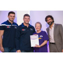 Stalybridge stroke survivor receives regional recognition
