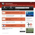 Skärmbild av StepStones nischade jobbsajt för marknads- och mediejobb