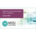 Presentation av MDS på Investerardagen i norr