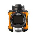 Ricoh WG-1M actionkamera orange ovanifrån