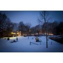 Uppsala before lights