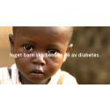 Diabetesfonden initierar en julinsamling för att inget barn ska behöva dö av diabetes