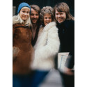 ALDRIG TIDIGARE VISADE ABBA-BILDER I FOTOUTSTÄLLNING MED POP-IKON