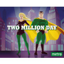 "Säljstopp för Metros ""two million day"""