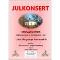 Operatenor gästsolist på julkonsert med Linde Bergslags Kammarkör