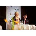 Vd Anna Nedeby Bar-Am och ordförande Thomas Andersson - Start-Up Stockholms Galakväll 2012
