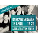 Pressinbjudan till Gyncancerdagen 2015 i Stockholm 13 april