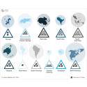 Risks posed by natural hazards to major cities across the world