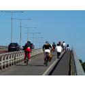 Vilken stad cyklar om Lund?
