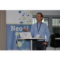 Daniel Blomquist, Creandum, på GraphDay i Stockholm