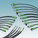 Ready-to-assemble sensor/actuator cables in PVC construction