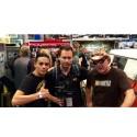 Farmtruck & Azn och jag på Sema Show-2014, världens största bilmässa