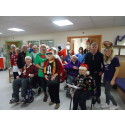 Stroke survivors bring festive cheer to patients in Lancashire