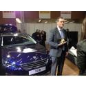 """Den nye Peugeot 308 er """"Car of the Year"""" 2014"""
