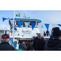 Festligt dop för Göteborgs nya älvprofil