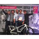 Walleräng E-bikes - ny svensk elcykel - vinnare av internationellt designpris - EUROBIKE AWARD