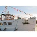 Författare ombord när Bokbåten kastar loss